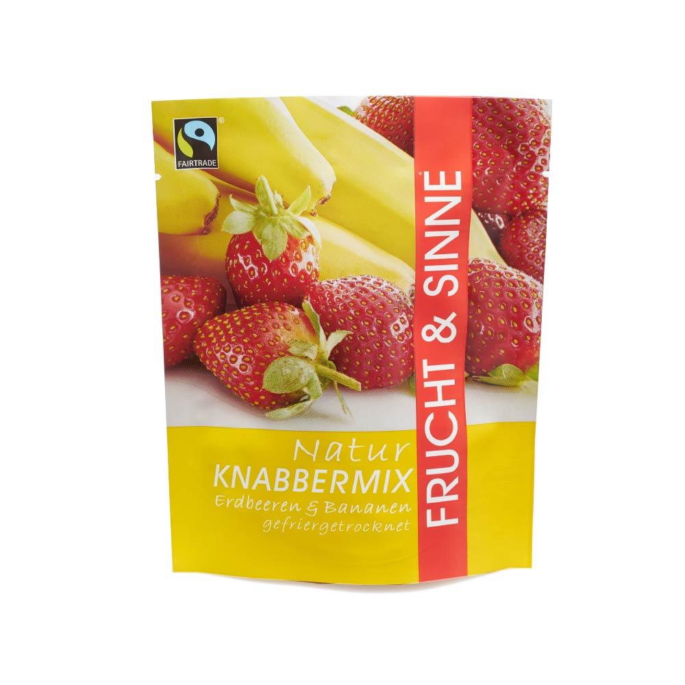 Knabbermix Erdbeere-Banane