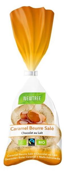 Newtree - Oeufs au chocolat au lait caramel beurre salé - 91 gr
