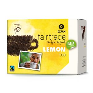 Oxfam Fair Trade – Thé bio citron – 36 gr