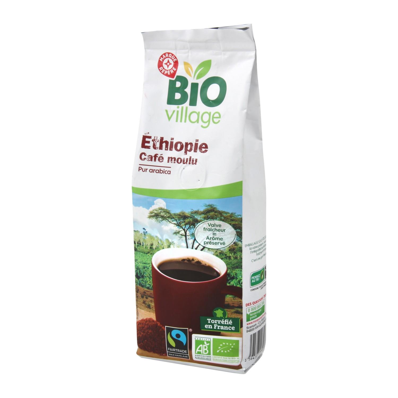 Café Moulu origine Ethiopie Bio 250g