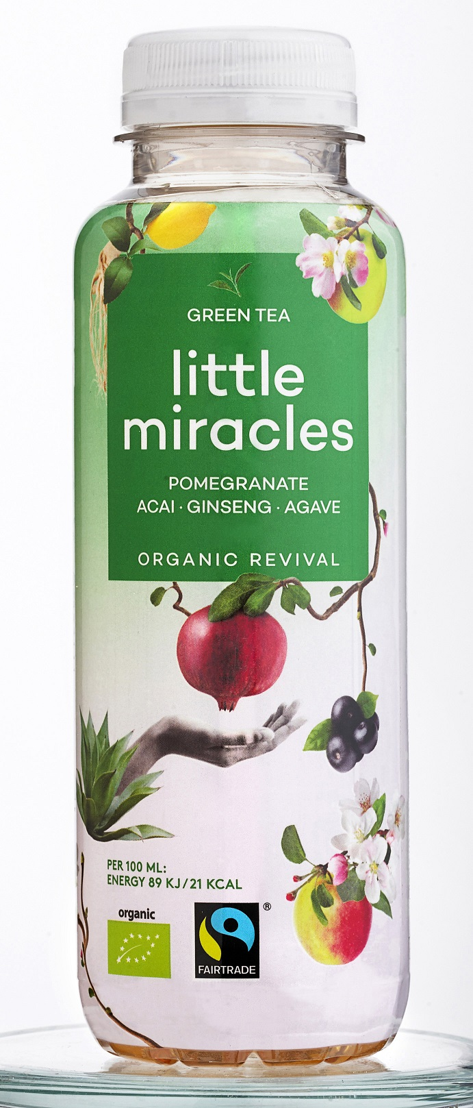 Little Miracles Green Tea Pomegranate