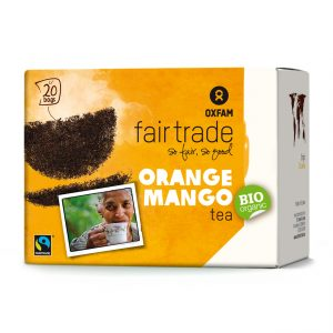 Oxfam Fair Trade – Thé bio oranges-mangues – 36 gr