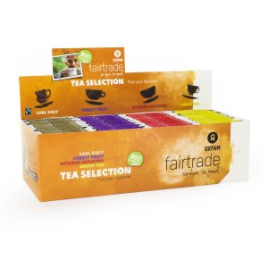 Oxfam Fair Trade – Thé bio assortiment 4 goûts – 180  gr