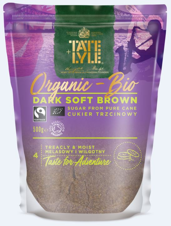 Tate and Lyle ORGANIC Dark Soft Brown Sugar