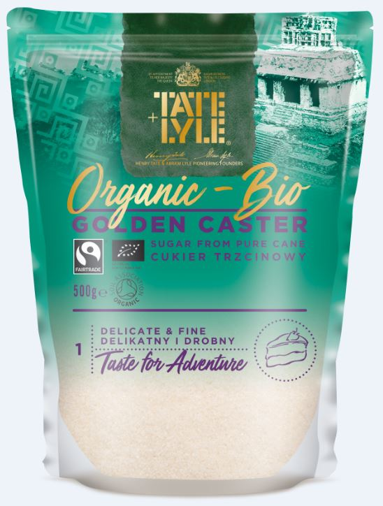 Tate and Lyle ORGANIC Golden Caster Sugar