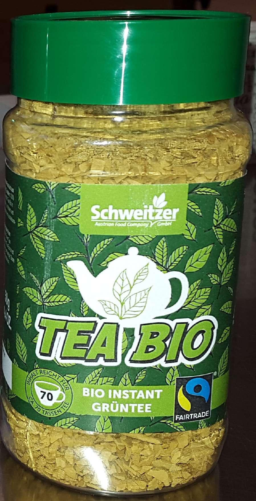 Grün Tee-Glas