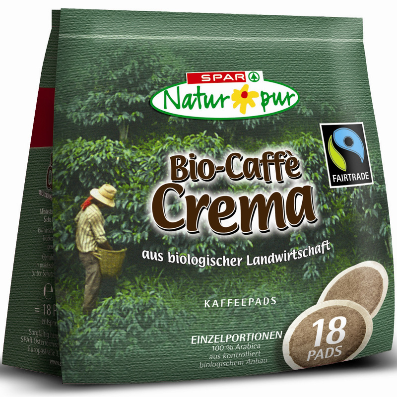 Kaffee Crema Kaffeepads