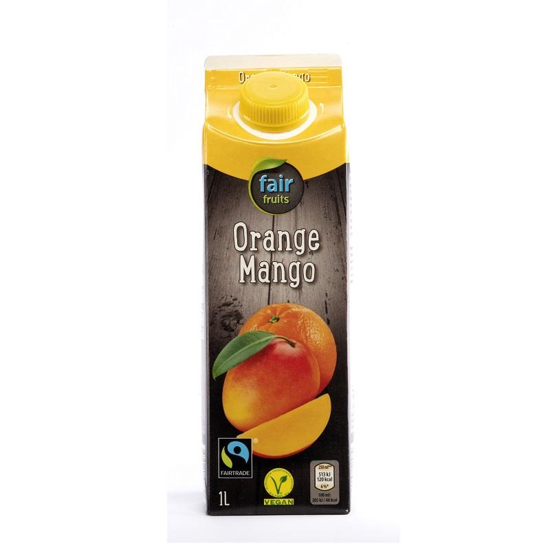 Mango-Orangennektar