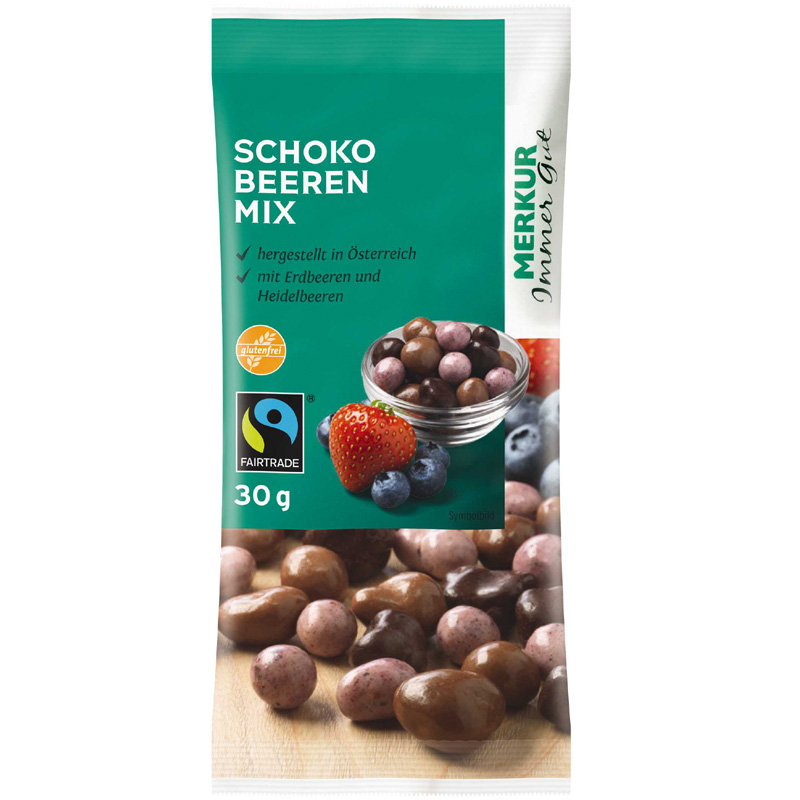 Schoko Beeren-Mix