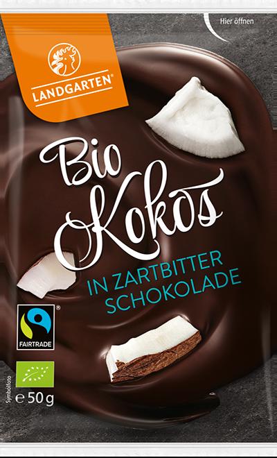 Bio FT Kokos Zartbitter 50g