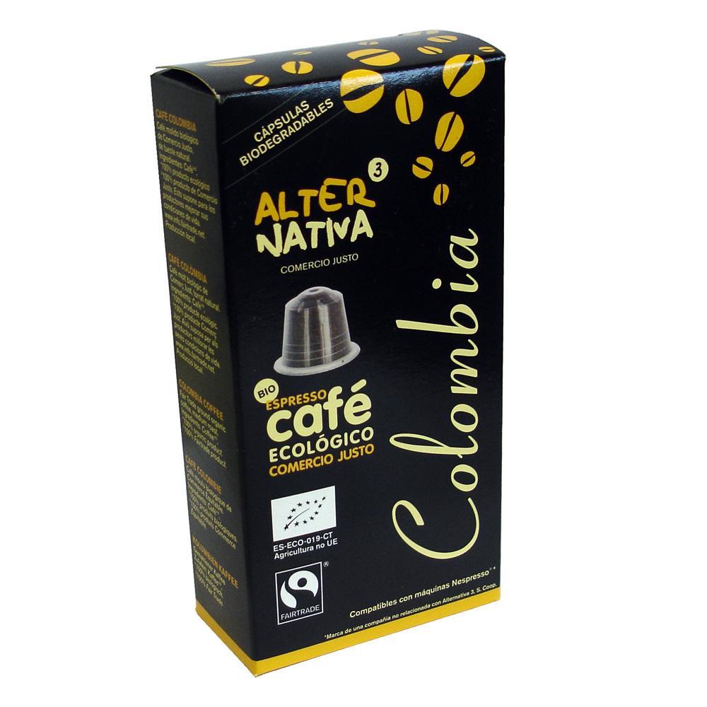 Cápsulas café Colombia