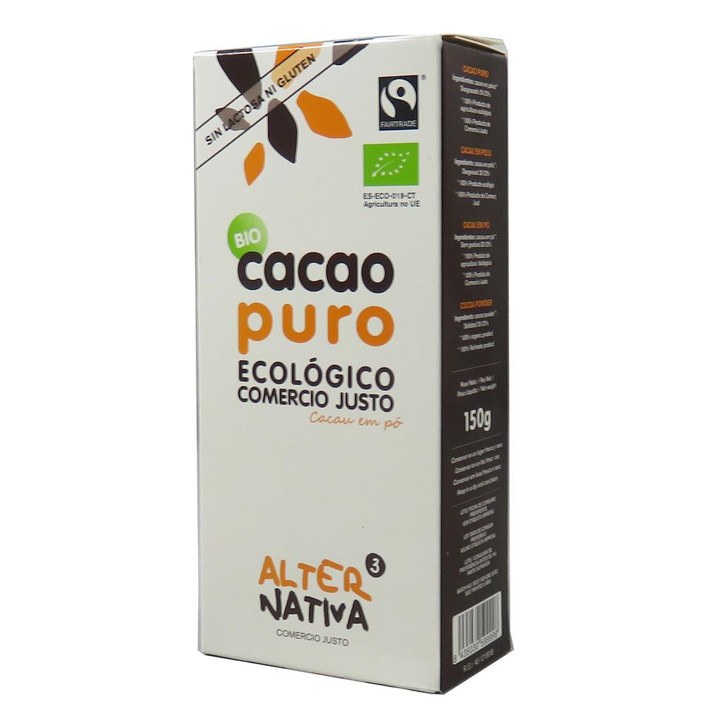 Cacao puro BIO 150 g