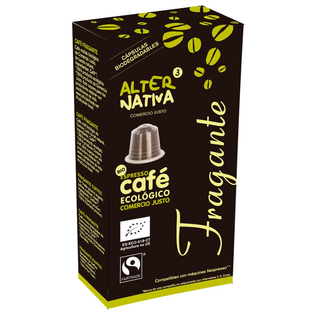 Cápsulas de cafè Fragante