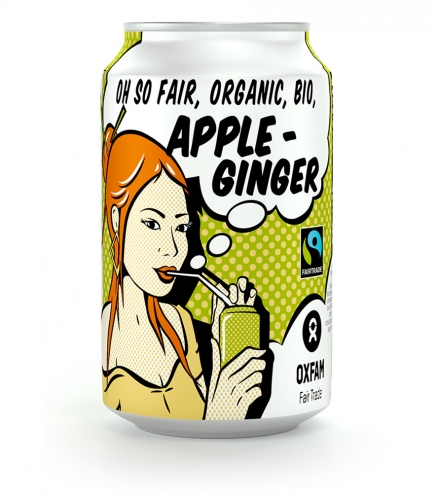 Oxfam Fair Trade – BIO Apple ginger – 33 cl