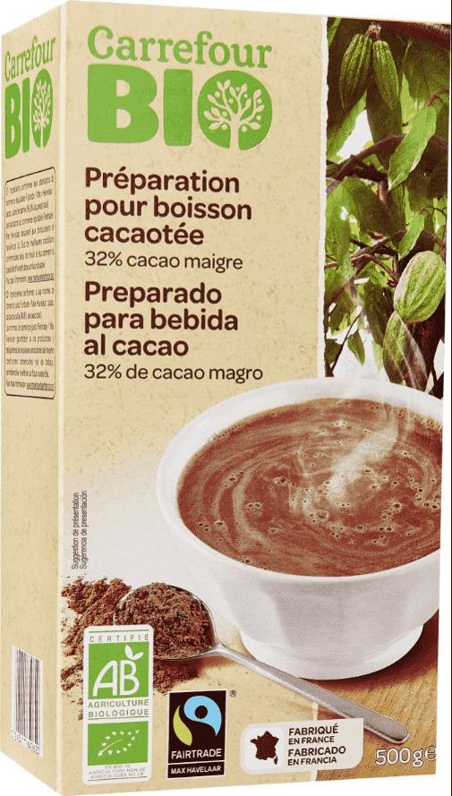 Poudre Cacaotée Pour Petit Déjeuner