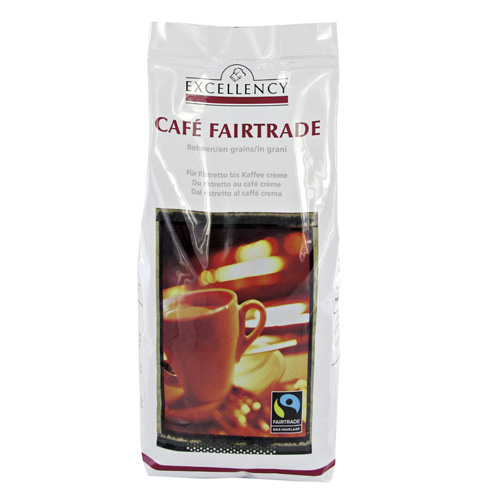 Café Fairtrade, Bohnen