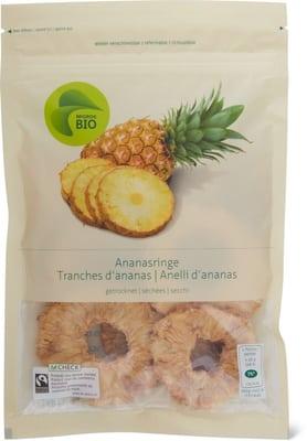 Ananasringe, getrocknet