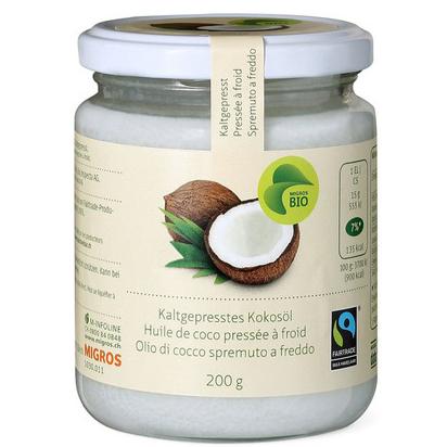 Kaltgepresstes Kokosöl