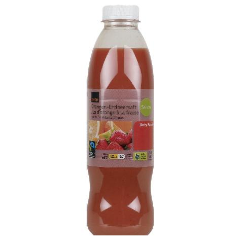 Orangen- & Erdbeersaft