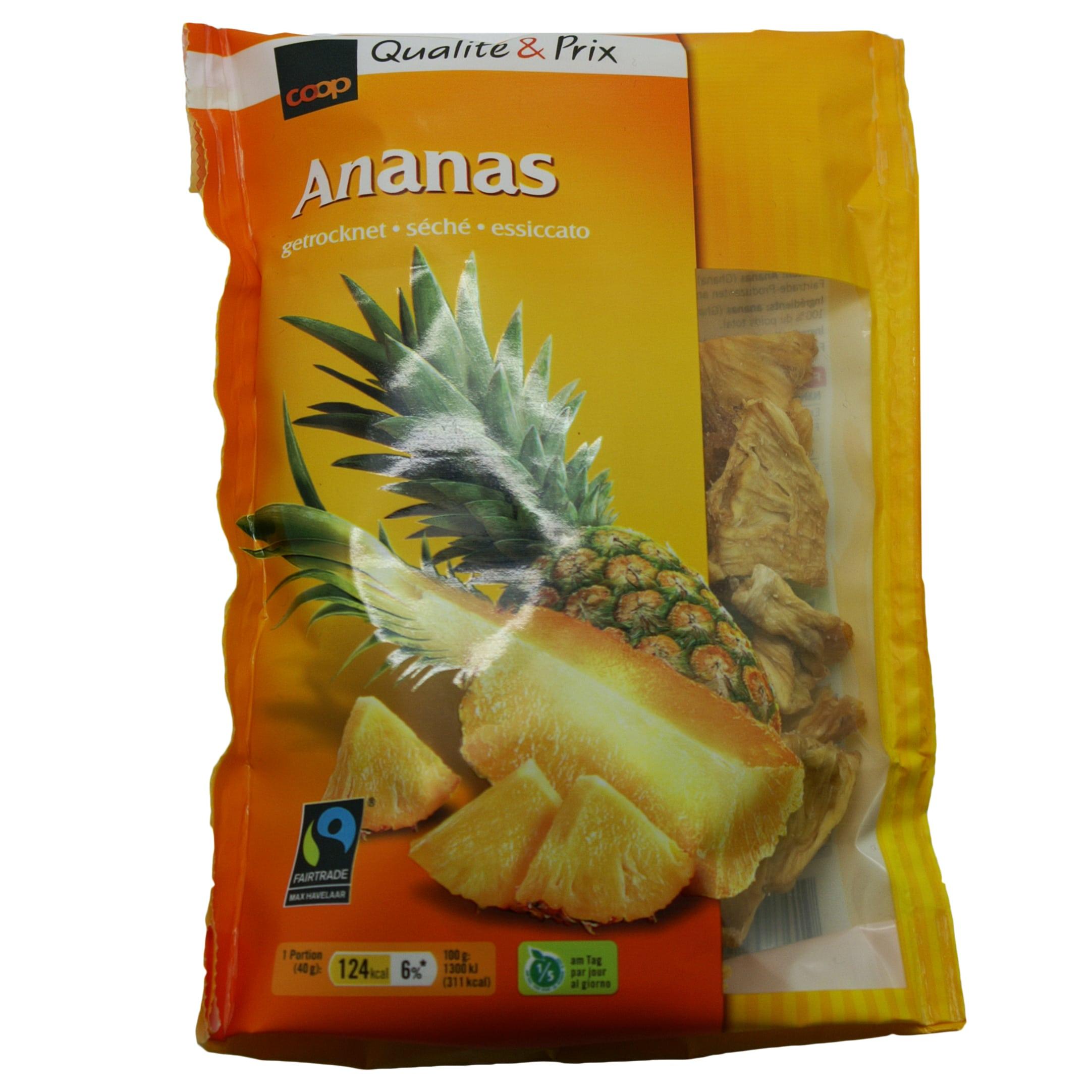 Ananas, getrocknet