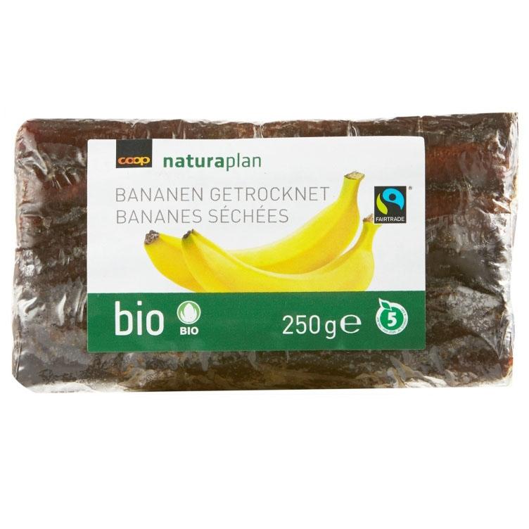 Bananen getrocknet