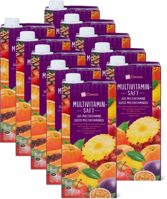 Multivitaminsaft (10 x 1L)
