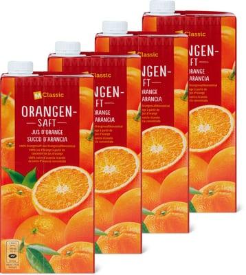 Orangensaft (4 x 1L)