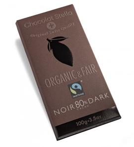 Tafelschokolade Dark, 80 Prozent