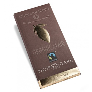 Tafelschokolade Dark, 92 Prozent