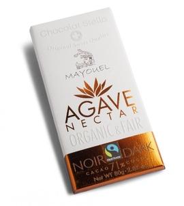 Tafelschokolade Agave Nectar, Dark