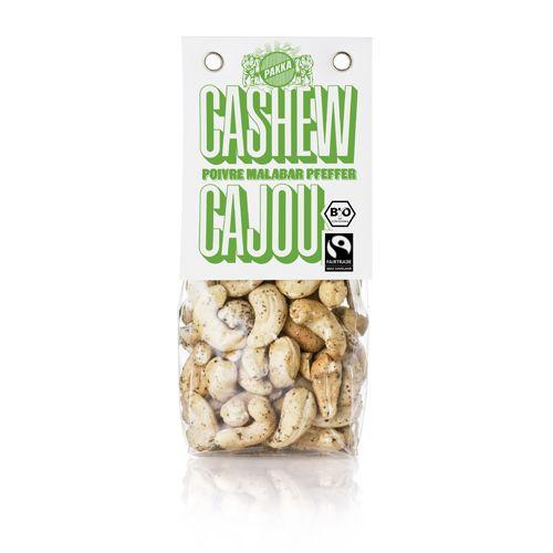Cashew geröstet, Malabar Pfeffer
