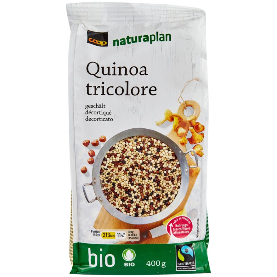 Quinoa tricolore, geschält