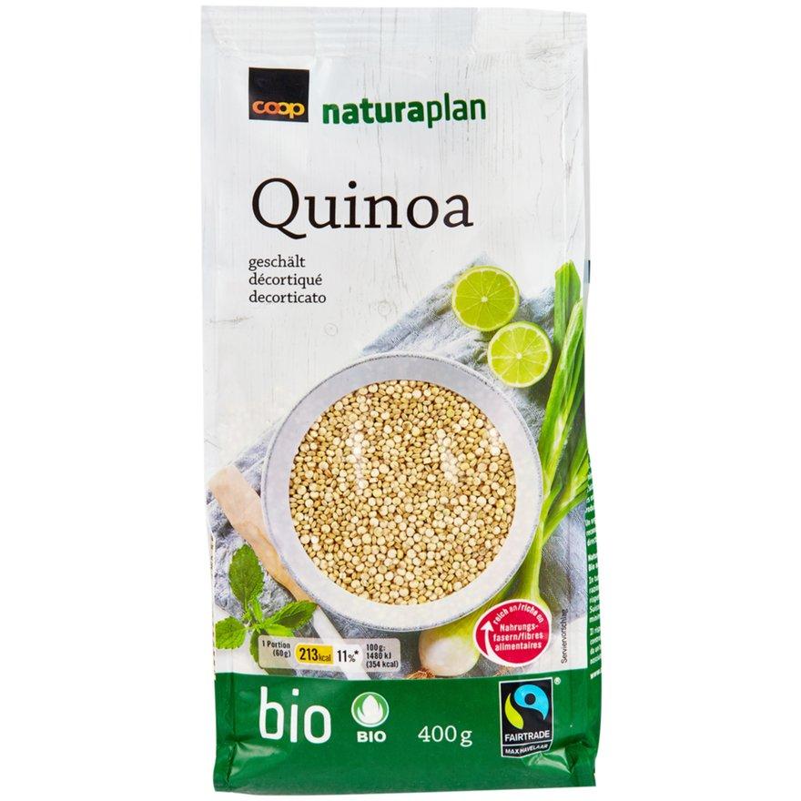 Quinoa, geschält