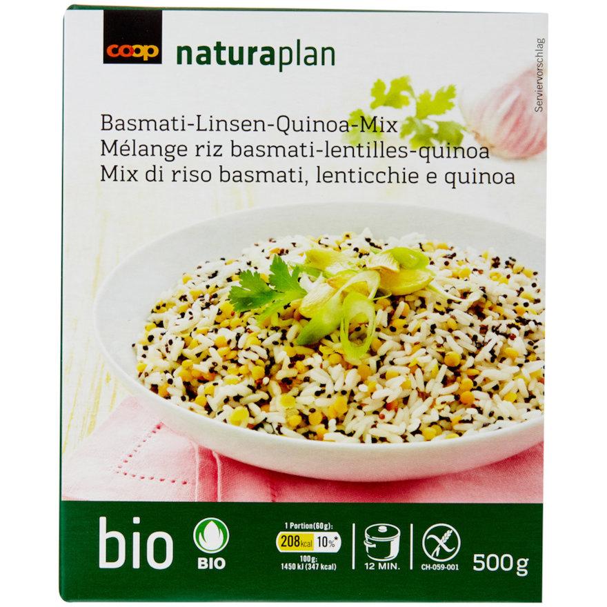 Basmati-Linsen-Quinoa-Mix