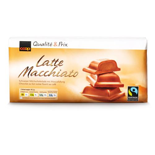 Tafelschokolade Latte Macchiato
