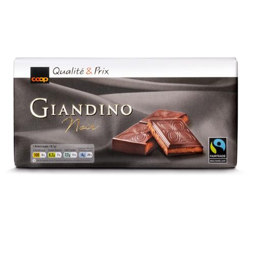 Tafelschokolade Giandino Noir (3x100g)