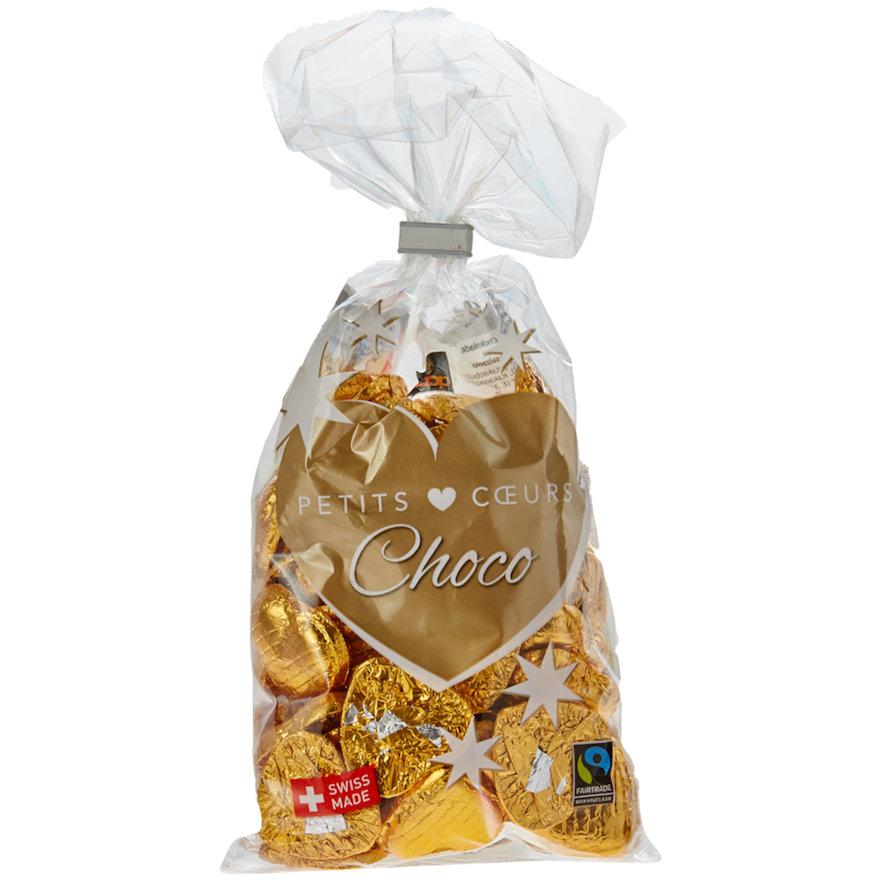 Petits Coeurs Choco, gold