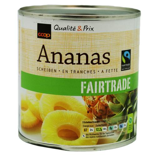 Ananas, Scheiben (6 Stk.)