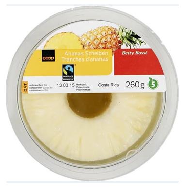 Ananas Scheiben