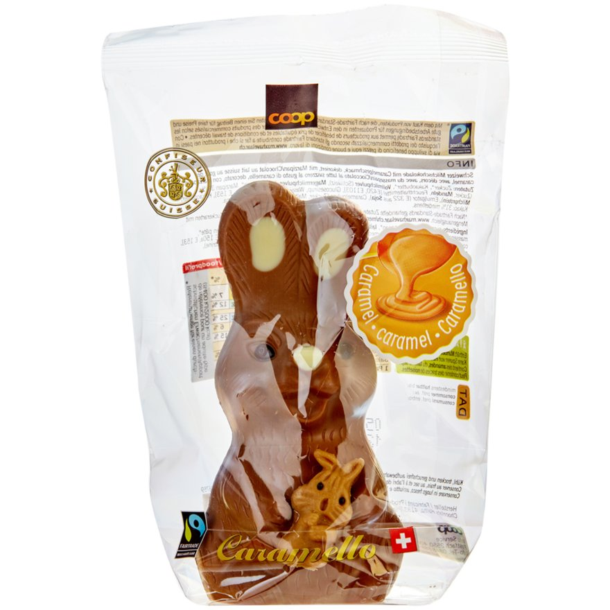 Osterhase Caramello Milchschokolade