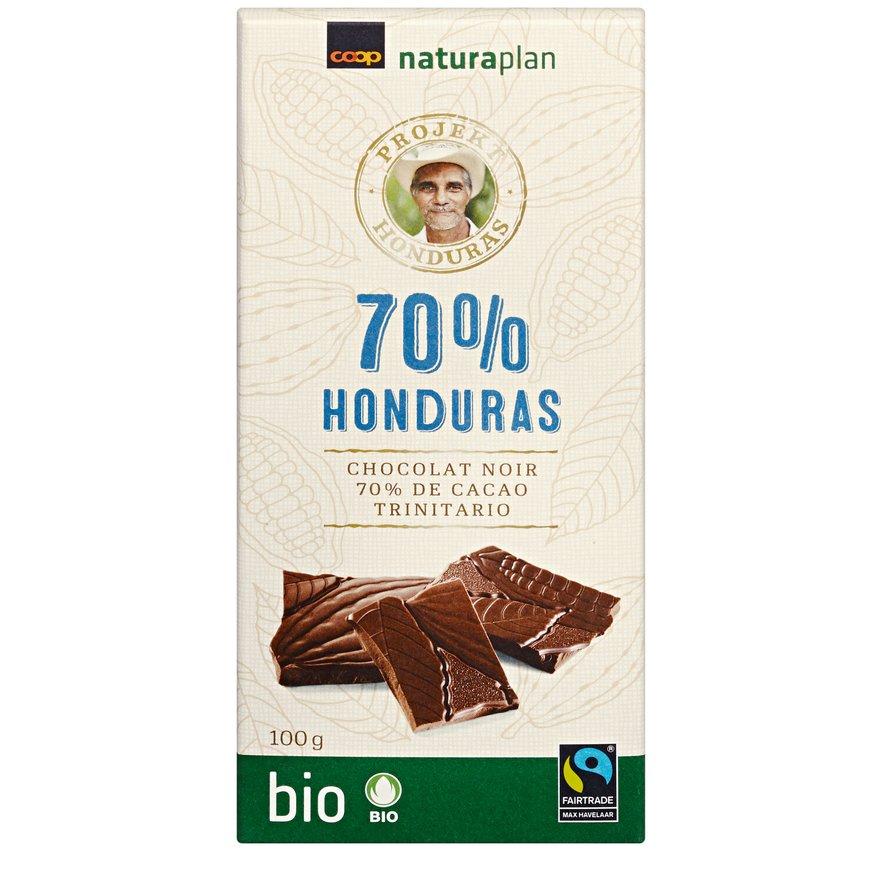 Tafelschokolade Honduras 70 Prozent