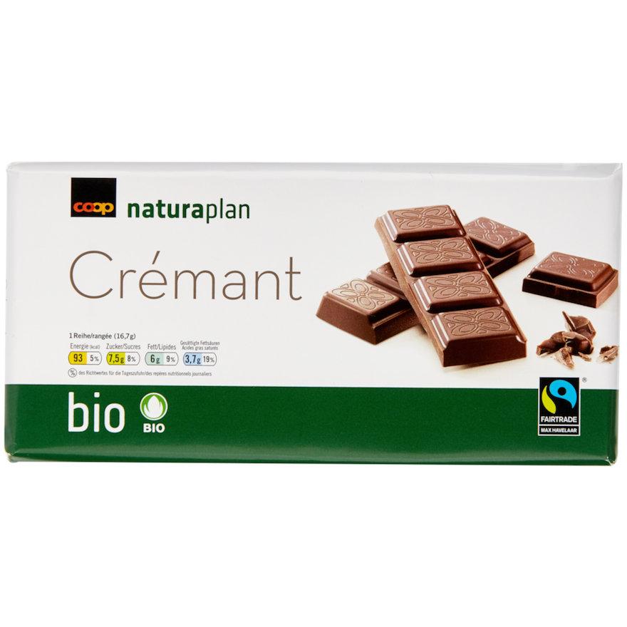 Tafelschokolade Crémant