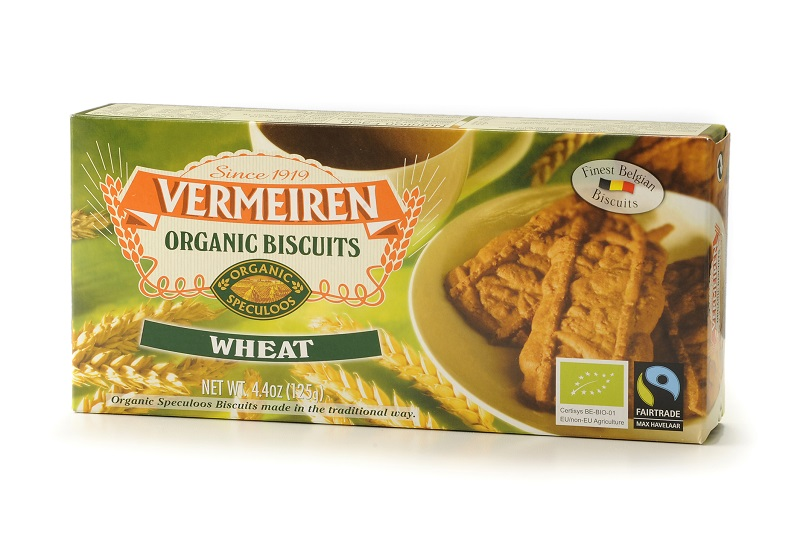 Organic biscuits wheat 12x125g