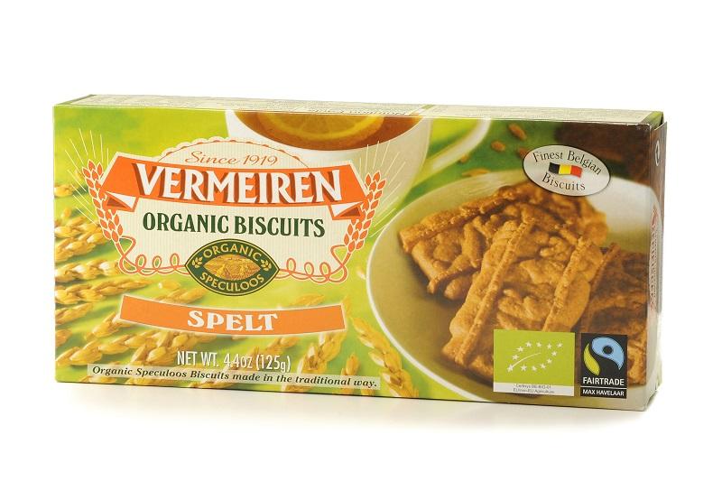 Organic biscuits spelt 12x125