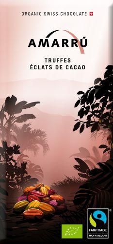 Tafelschokolade Truffes Éclats de Cacao