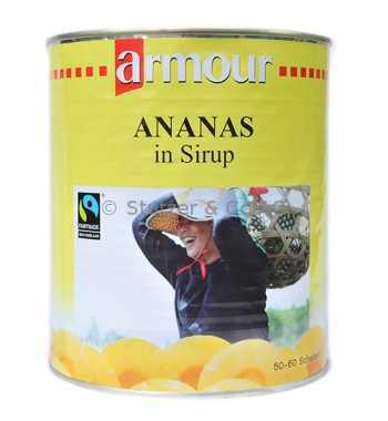 Ananas, Scheiben (50-60 Stück)