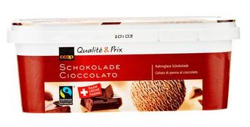Rahmglacé Schokolade