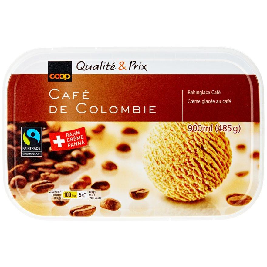 Café de Colombie Rahmglace