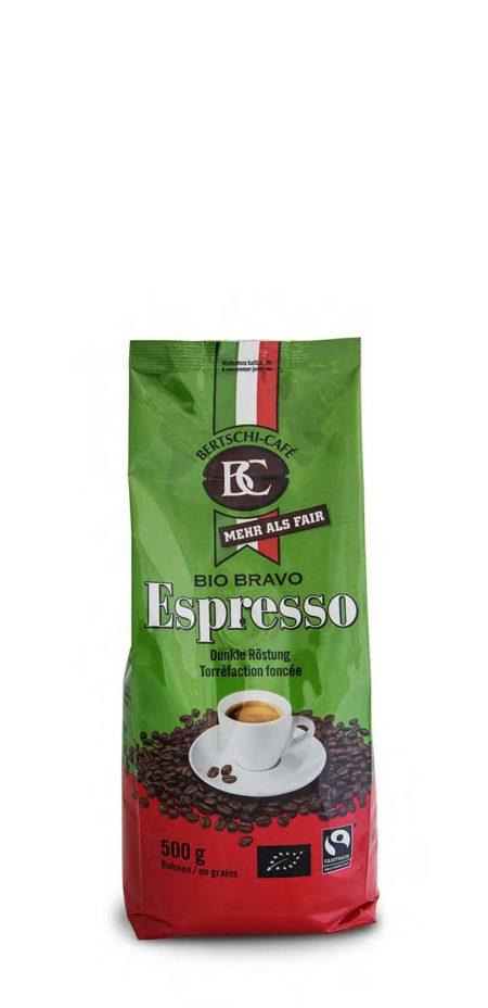 Euro Bio Bravo Espresso gemahlen