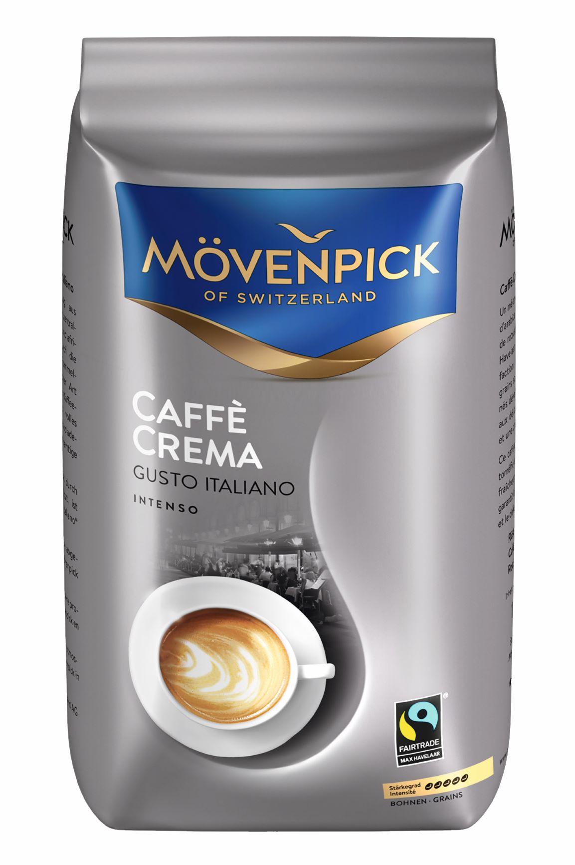 Caffè Crema Gusto Italiano, Bohnen